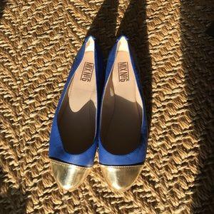 Mix No. 6 Shoes - Blue flats